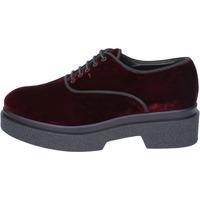 Schuhe Damen Derby-Schuhe & Richelieu Jeannot elegante samt burgund