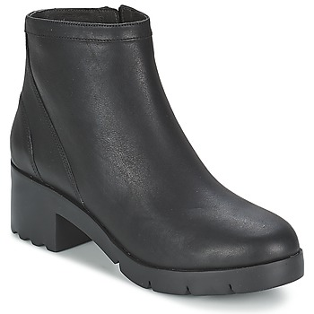 Schuhe Damen Low Boots Camper WANDA Schwarz