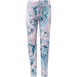 Kleidung Mädchen Leggings adidas Originals Marble Leggings Multicolor / blanc