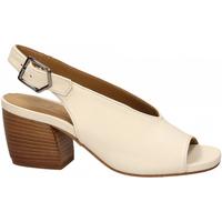 Schuhe Damen Sandalen / Sandaletten Salvador Ribes GRETA HARLEY bianco