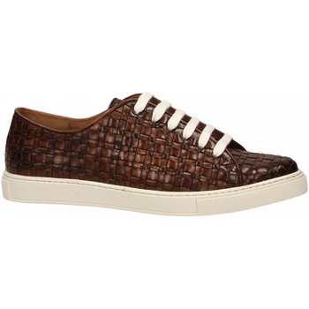Schuhe Herren Sneaker Low Brecos VITELLO brandy