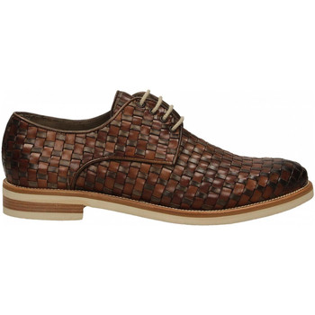 Schuhe Herren Derby-Schuhe Brecos VITELLO taupe-brandy