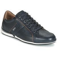 Schuhe Herren Sneaker Low BOSS SATURN LOWP TBPF1 Marine