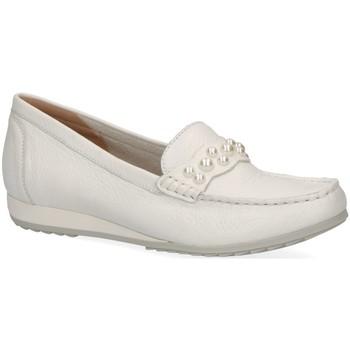 Schuhe Damen Slipper Caprice Slipper 24208-105 weiß
