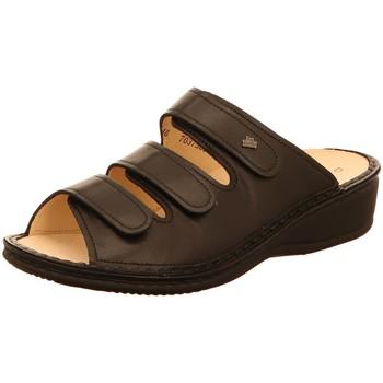 Schuhe Damen Pantoletten / Clogs Finn Comfort Pantoletten PISA 02501014099 014099 schwarz