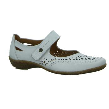 Schuhe Damen Ballerinas Longo Slipper Beq.bis35mm-Abs/Keil 1006639 weiß