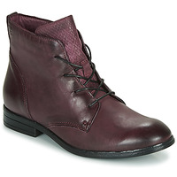 Schuhe Damen Boots Dream in Green LAMPEDI Bordeaux