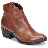 Schuhe Damen Low Boots Dream in Green LALYSSA Cognac
