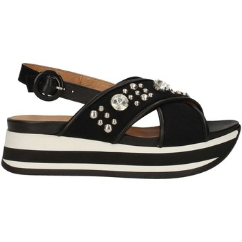 Schuhe Damen Sandalen / Sandaletten Janet Sport 43758 BLACK