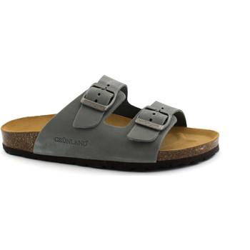 Schuhe Damen Pantoffel Grunland GRU-CCC-CB0003-PI Grigio