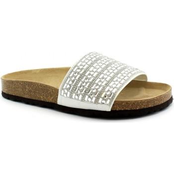 Schuhe Damen Pantoffel Grunland GRU-E19-CB1758-AR Argento