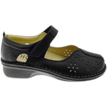 Schuhe Damen Ballerinas Calzaturificio Loren LOM2313blsc blu