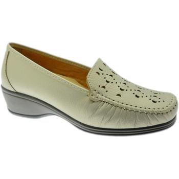 Schuhe Damen Slipper Calzaturificio Loren LOK4002be rosso