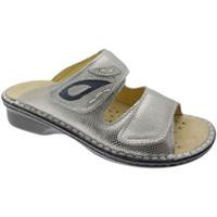 Schuhe Damen Pantoffel Calzaturificio Loren LOM2724ar grigio