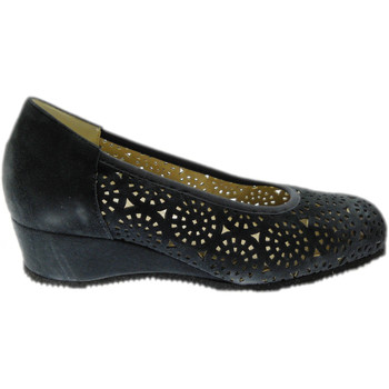 Schuhe Damen Pumps Calzaturificio Loren LOP5423bl blu