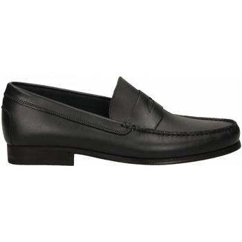 Schuhe Herren Slipper Antica Cuoieria SIENA blu