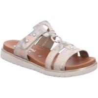 Schuhe Damen Pantoffel Remonte Dorndorf Pantoletten D4058-90 beige