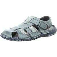 Schuhe Herren Sportliche Sandalen Krisbut Offene 1098-6-1 blau
