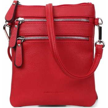 Taschen Damen Umhängetaschen Emily & Noah Schulter Minnibag Emma 60392 Rot