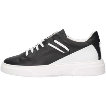 Schuhe Herren Sneaker Low Made In Italia REY 3 NERO/BIANCO Sneaker Mann Schwarz / Weiß Schwarz / Weiß