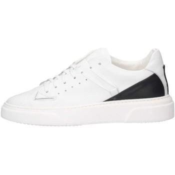 Schuhe Herren Sneaker Low Made In Italia REY 3 BIANCO/NERO Sneaker Mann Weiß / Schwarz Weiß / Schwarz