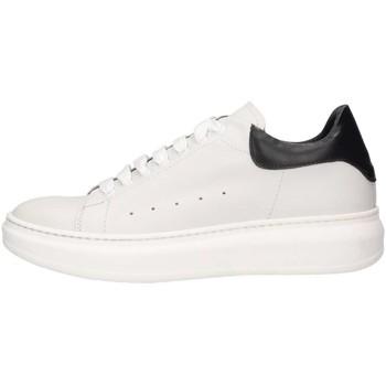 Schuhe Herren Sneaker Low Made In Italia RAY 1 BIANCO/NERO Sneaker Mann Weiß / Schwarz Weiß / Schwarz