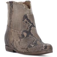 Schuhe Damen Low Boots Priv Lab PITONE ROCCIA Bianco