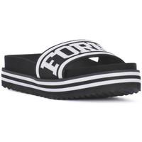 Schuhe Damen Pantoletten Fornarina BEACH 2 BLACK Nero