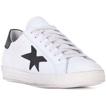 Schuhe Herren Sneaker Low At Go GO VITELLO BIANCO Bianco