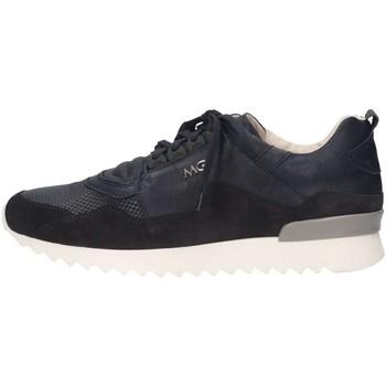 Schuhe Herren Sneaker Low Mg Magica U1905B BLU Sneaker Mann blau blau
