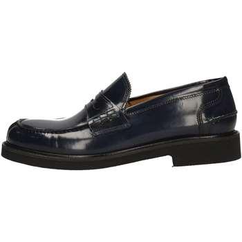 Schuhe Herren Slipper Hudson 334 BLUE