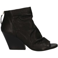 Schuhe Damen Low Boots Elvio Zanon EJ5106 BLACK