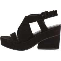 Schuhe Damen Sandalen / Sandaletten Elvio Zanon EJ0802 Schwarz