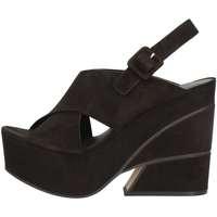 Schuhe Damen Sandalen / Sandaletten Elvio Zanon EJ0702 Schwarz