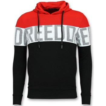 Kleidung Herren Sweatshirts Enos Hoodies Jacke FRZ Schwarz, Rot