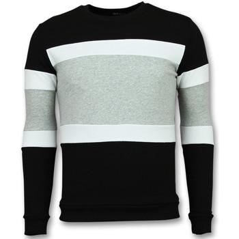 Kleidung Herren Sweatshirts Enos Gestreifte FGZ Schwarz, Grau