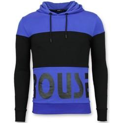 Kleidung Herren Sweatshirts Enos Hoodies Jacke Schwarz, Blau