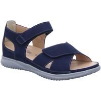 Schuhe Damen Sportliche Sandalen Hartjes Sandaletten sandalette 111332/65,00 blau