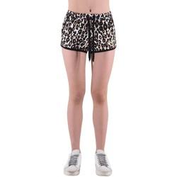 Kleidung Damen Shorts / Bermudas Happiness | Lowe Shorts Multi | HAP_E19_NOTLEOP Multicolor