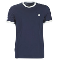 Kleidung Herren T-Shirts Fred Perry TAPED RINGER T-SHIRT Marine