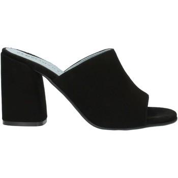 Schuhe Damen Pantoffel Albachiara NC82 schwarz