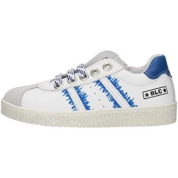 Schuhe Jungen Sneaker Low Balocchi 491699 Weiß und blau