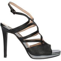 Schuhe Damen Sandalen / Sandaletten Bacta De Toi 606 schwarz