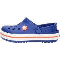 Schuhe Kinder Pantoletten / Clogs Crocs 204537 Blau und Orange