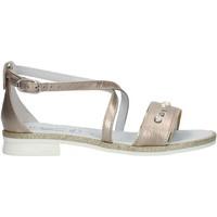 Schuhe Mädchen Sandalen / Sandaletten Nero Giardini P830480F Nuss
