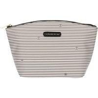 Taschen Damen Kosmetiktasche Pash Bag 8385Gisele Eis mit schwarzen Streifen