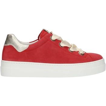 Schuhe Damen Sneaker Low Nero Giardini P907813D rot