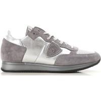 Schuhe Damen Sneaker Low Philippe Model TRLD ME02 argento