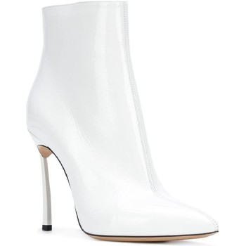 Schuhe Damen Boots Casadei 1Q618L100TRAIN900 bianco