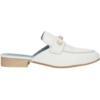Schuhe Damen Pantoletten / Clogs Albachiara NC74 weiß